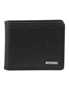 Morrissey Italian Leather Tri-Fold Mens Clasp Wallet