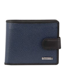 Morrissey Italian Leather Tri-Fold Mens Wallet