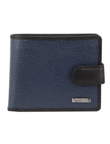 Morrissey Italian Leather Tri-Fold Mens Wallet