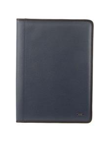 Morrissey Italian Structured Leather Business Compendium/Folio