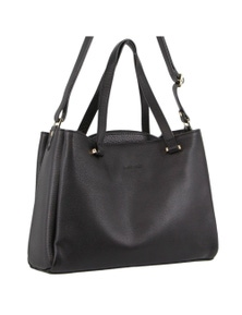 Pierre Cardin Italian Leather Tote Handbag with shoulder strap