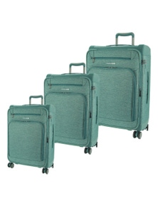 Pierre Cardin Half Hard/Half Soft Suitcases - Set of 3