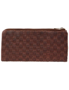 Pierre Cardin Women's Rustic Leather Wallet Ladies Purse