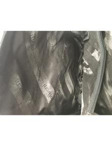 Milleni Genuine Italian Leather Soft Nappa Leather Backpack Travel Bag - Black