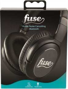 Fuse Active Noise Cancelling Over-Ear - Black