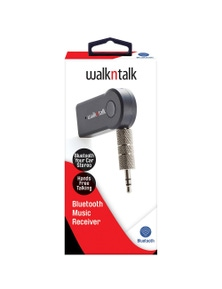 WalkNTalk Bluetooth Music Receiver - Black