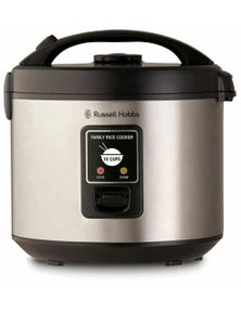 Russell Hobbs Family Rice Cooker Stainless Steel