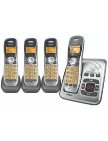 Uniden Dect Digital Phone System With 4 Phones