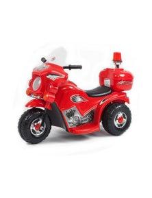 Indoor/Outdoor Red 3 Wheel Electric Ride On Motorcycle Motor Trike Kids/Toddler