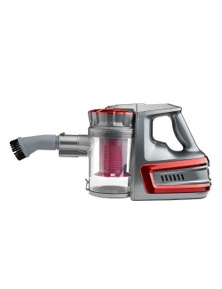 Lenoxx Powerful Rechargeable Cordless Vacuum Cleaner Red