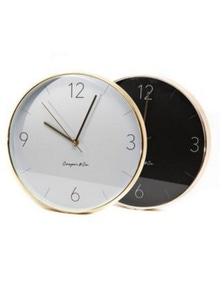 29cm Metro Wall Clock Modern Designer Minimalistic Minimal Decor HC480 New