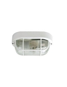 Osmo Ip54 Outdoor Bulkhead Acrylic And Glass White