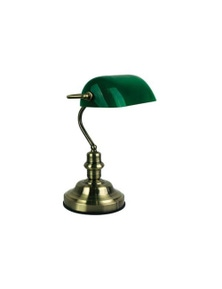 Touch Lamp In Antique Brass
