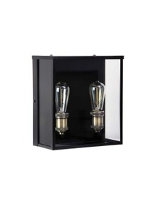 Hamptons Style Outdoor Twin Wall Sconce