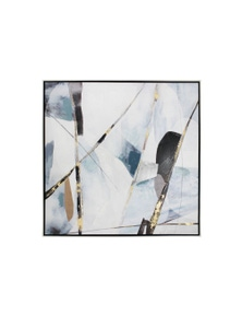 NF Living Framed Kimbra Canvas Painting