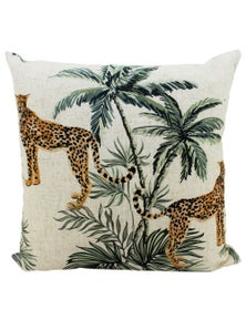 NF Living Double sided Printed Linen Cushion