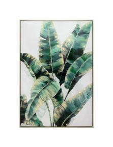 NF Living Framed Strelitzia Plant Canvas Wall Art