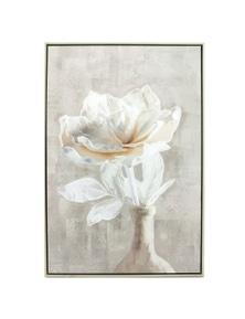 NF Living Framed Abigail Flower in Vase Canvas Painting