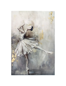 NF Living Ballerina Canvas Painting