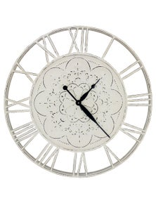 NF Living Eli Pressed metal Clock