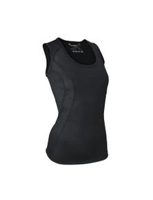 Wilderness Womens Singlet Size 10 Thermal Activewear Black