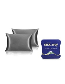 Ramesses Cooling Mulberry Silk Pillowcase - Twin Pack