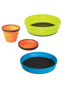 Sea to Summit X-Set - 3pc (Plate, Bowl, Mug & Pouch)