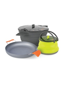 "Sea to Summit X-Set - 8"" Pan 2.8L Pot 1.3L Kettle"