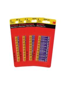 Kodak AAA 160 - BULK Heavy Duty Zinc 1.5V Low Drain Batteries