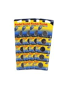 10 Pack Kodak CR2025 50 - BULK  Ultra Lithium 3V Button Batteries