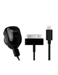 3in1 Android Cable w/ Adaptor Single Port Adaptor Dual Charge Cable ADM77A