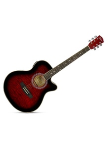 """Freedom 40"""" Cutaway Semi Acoustic Guitar with Built-In Pickup MJG304"""