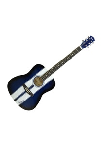"""Freedom 41"""" Semi-Acoustic Guitar with Built-In Pickup Stripe AG310"""