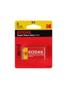 Kodak 9V Single Heavy Duty Zinc 1.5V Low Drain Battery