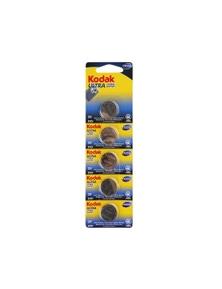 Kodak CR2025 5 Pack  Ultra Lithium 3V Button Batteries