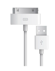 30-Pin iPhone 3/4 Style Cable 1m IP603