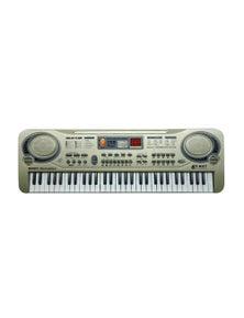 61 Key Kids Electronic Keyboard 55cm USB Input Wired Microphone MQ811USB