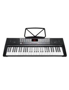 61 Key Full Size Electronic Keyboard Light Up Keys Note Stand MK2108