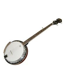 Freedom 5-String Banjo Full Size Chrome Machine Heads and Rim Remo Head BJ008
