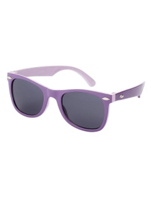 Black Ice Kids Purple with Lilac inside Frame Smoke Lens Sunglasses