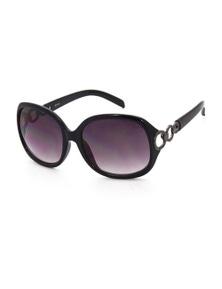 Black Ice Womens Black Frame Graduated Smoke Lens Sunglasses