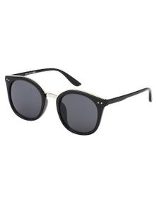 Black Ice Jas Womens Black Frame Smoke Lens Sunglasses