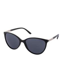 Black Ice Karn Womens Black Frame Smoke Lens Sunglasses