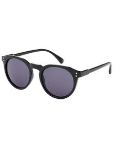 Black Ice Pollar Unisex Black Frame Smoke Lens Sunglasses