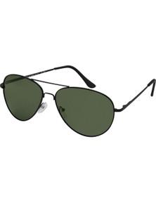 Black Ice Unisex Matt Black Frame G15 Lens Sunglasses