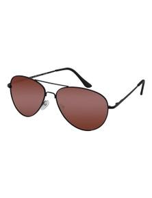 Black Ice Unisex Matt Black Frame Red mirror Lens Sunglasses