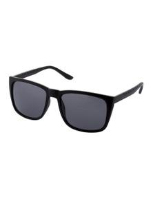 Black Ice Tait Unisex Matt Black Frame Smoke Lens Sunglasses