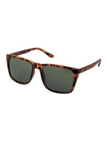 Black Ice Shin Unisex Matt Tort Frame G15 Lens Sunglasses