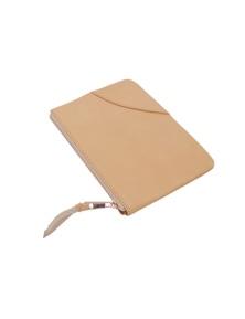 Kesa + Konc Classic Fawn Plain Pouch (Hand Strap)