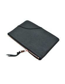 Kesa + Konc Classic Plain Pouch (Hand Strap) - Black